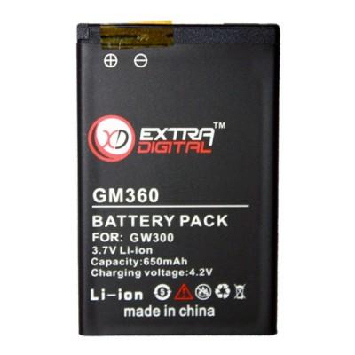 Аккумулятор LG GM360
