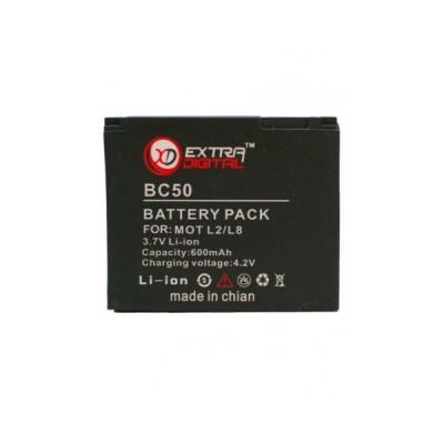 Аккумулятор Motorola BC50 (L2/L8/L6/V3X/Z1/V8/K1/Z3)