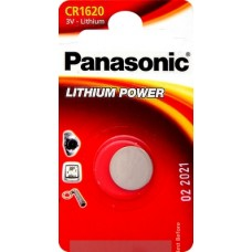 Батарейка Panasonic CR1620 Lithium Power 3V (CR-1620EL/1B)