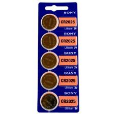 Батарейки Sony CR 2025, 5шт./уп. (CR2025BEA)