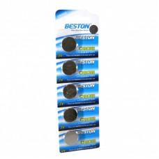 Батарейки BESTON CR 2032, 5шт./уп. (AAB1826)