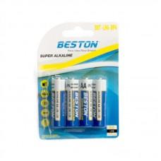 Батарейка Beston AA Alkaline, 4шт./уп. (AAB1831)