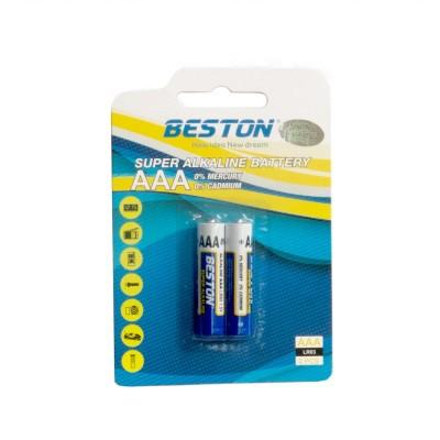 Батарейки BESTON AAA Alkaline, 2 шт./уп. (AAB1832)