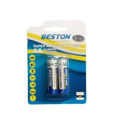 Батарейки BESTON AA Alkaline, 2 шт./уп. (AAB1830)