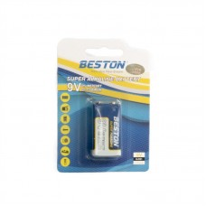 Батарейка Beston Alkaline Крона 9V, щелочная (6LR61), 1 шт.