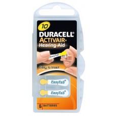 Батарейки Duracell Activair 10 (6 шт. в кейсе)