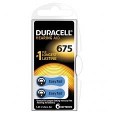 Батарейки Duracell Activair 675 (6 шт. в кейсе)