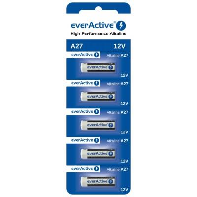 Батарейка EverActive 27A (MN27) 12V, 5 шт./уп.