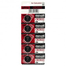 Батарейка Maxell CR 2032, 3V, 5 шт./уп.