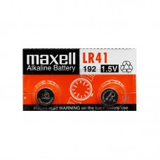 Батарейка Maxell LR41 Alkaline 1.5V, 2 шт./уп.