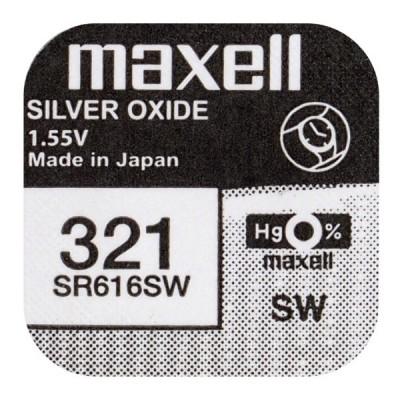 Батарейка Maxell 321 (SR616SW) Silver Oxide 1.55V