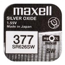 Батарейка Maxell 377 (SR626W) Silver Oxide 1.55V