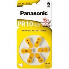 Батарейки Panasonic 10, 6 шт./уп.