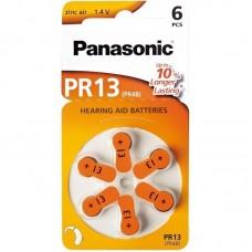 Батарейки Panasonic 13, 6 шт./уп.