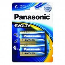 Батарейка Panasonic EVOLTA C Alkaline, 2 шт./уп. (LR14EGE/2BP)