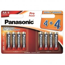 Батарейка Panasonic PRO POWER AA Alkaline, 8 шт./уп.