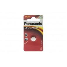 Батарейка Panasonic LR44 Alkaline 1.5V (LR-44EL/1B)