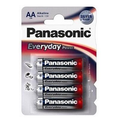 Батарейки Panasonic EVERYDAY POWER AA, 4шт./уп. (LR6REE/4BR)