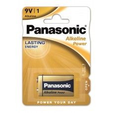 Батарейки Panasonic ALKALINE POWER Крона 9V (6LF22APB/1BP)