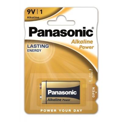 Батарейки Panasonic ALKALINE POWER Крона 9V (6LF22APB/1BP)