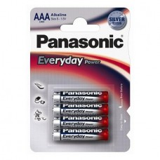 Батарейки Panasonic EVERYDAY POWER AAA, 4 шт./уп. (LR03REE/4BR)