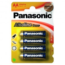 Батарейки Panasonic ALKALINE POWER AA, 4 шт./уп. (LR6REB/4BPR)