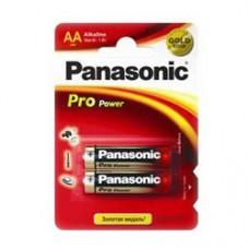 Батарейки Panasonic PRO POWER AA Alkaline, 2 шт./уп. | УЦЕНКА