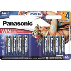 Батарейка Panasonic EVOLTA AA Alkaline Cirque du Soleil, 8 шт./уп. (LR6EGE/8B4FCDS)
