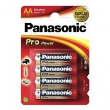 Батарейки Panasonic PRO POWER AA Alkaline, 4 шт./уп. | УЦЕНКА