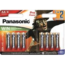 Батарейка Panasonic PRO POWER AA Alkaline Cirque du Soleil, 8 шт./уп. (LR6XEG/8B2FCDS)