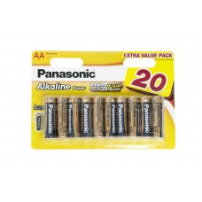 Батарейка Panasonic ALKALINE POWER AA, 20 шт./уп. (LR6REB/20BW)