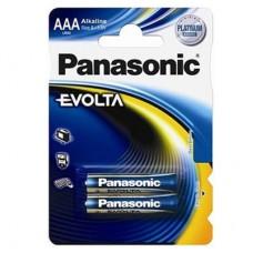 Батарейка Panasonic EVOLTA AAA Alkaline, 2 шт./уп. (LR03EGE/2BP)