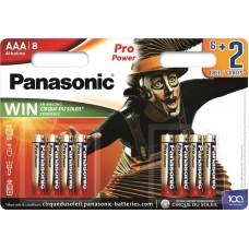 Батарейка Panasonic PRO POWER AAA Alkaline Cirque du Soleil, 8 шт./уп. (LR03XEG/8B2FCDS)