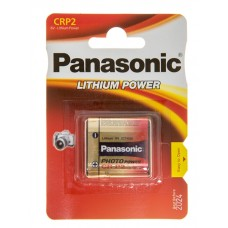 Батарейка Panasonic CR-P2L Lithium 6V (CR-P2L/1BP)