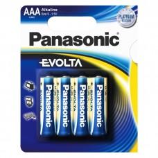 Батарейка Panasonic EVOLTA AAA Alkaline, 4 шт./уп. (LR03EGE/4BP)