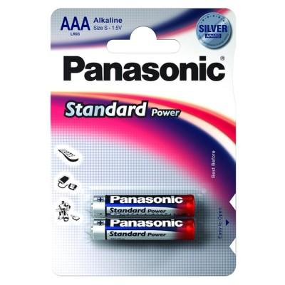Батарейки Panasonic EVERYDAY POWER AAA Alkaline, 2 шт./уп. (LR03REE/2BR)