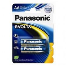 Батарейка Panasonic EVOLTA AA Alkaline, 2 шт./уп. (LR6EGE/2BP)