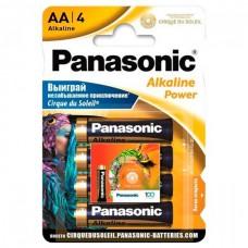 Батарейка Panasonic ALKALINE POWER AA Cirque du Soleil, 4 шт./уп. (LR6REB/4BPSCDS)