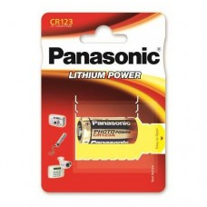 Батарейка Panasonic CR123 Lithium Power 3V (CR-123AL/1BP)