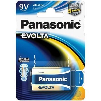 Батарейка Panasonic EVOLTA Крона 9V (6LR61) Alkaline (6LR61EGE/1BP)