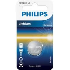 Батарейка Philips Lithium CR 2016