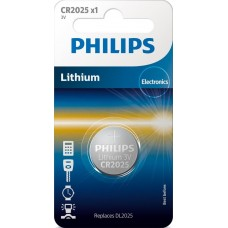 Батарейка Philips Lithium CR 2025