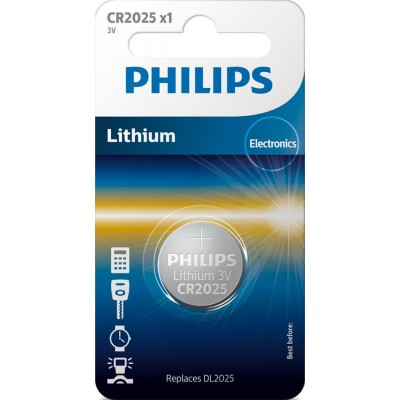 Батарейка Philips Lithium CR 2025