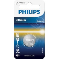 Батарейка Philips Lithium CR 2032