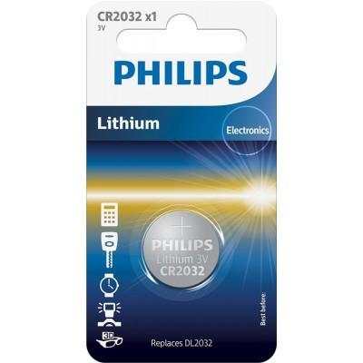 Батарейка Philips Lithium CR 2032