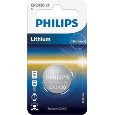 Батарейка Philips Lithium CR 2430