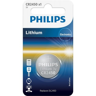 Батарейка Philips Lithium CR 2450