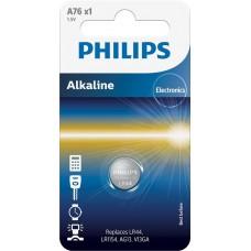 Батарейка Philips Alkaline A76 (LR44, LR1154, AG13, V13GA)