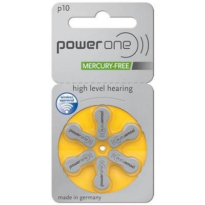 Батарейки PowerOne 10 (PR70) | 6 шт./уп.