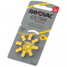 Батарейки RAYOVAC EXTRA ADVANCED 10, 8 шт./уп.